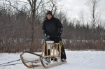 Steve Caming on a Tag Sled